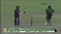 Pakistan Vs West Indies 1st T20 2013 Last Ball Six By Zulfiqar Babar - Winning Moments