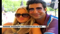 Wasim Akram Got Married with Shaniera Thompson in Lahore