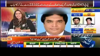 Haroon Rasheed vs Hanif Abbasi Live Fight in News Eye With Meher Bukhari