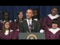 Kid Falls Asleep During Obama Speech