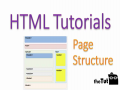 Structure of HTML page.