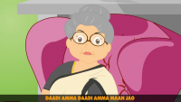 Dadi Amma Dadi Amma Maan Jao - Animated Cartoon of Urdu Poem