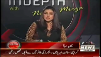 Indepth with Nadia Mirza 19th March 2014 Wednesday at Waqt News