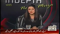 Indepth with Nadia Mirza 27th March 2014 Thursday at Waqt News