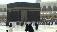 Rain in Makkah