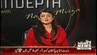 Indepth with Nadia Mirza 1st April 2014 Tuesday at Waqt News