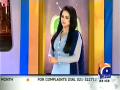 Hum Sab Umeed Say Hain 7th April 2014 by Saba Qamar on Monday at Geo News