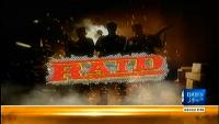 Raid 13th April 2014 by Ali Hashmi on Sunday at Dawn News