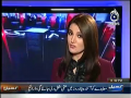 Aaj With Reham Khan 16th April 2014 by Reham Khan on Wednesday at Aaj TV