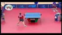 Table Tennis - Most Amazing Trick Shot