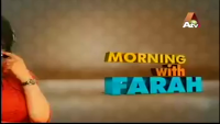 Morning With Farah 23rd April 2014