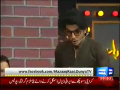 Mazaaq Raat 23rd April 2014 by Nauman Ijaz on Wednesday at Dunya News