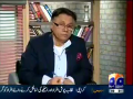 Meray Mutabiq 4th May 2014 by Hassan Nisar on Sunday at Geo News
