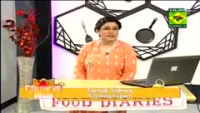 Food Diaries 15th May 2014