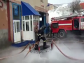 Russian Firefighters Doing Stunts