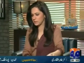 Meray Mutabiq 21st June 2014 by Hassan Nisar on Saturday at Geo News