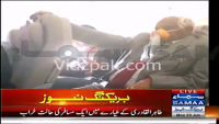 Dr. Tahir-ul-Qadri In Aggressive Mood Inside The Plane