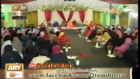 Ahlan wa Sahlan Marhaba - Amber Ashraf-ARY QTV-MILAD MEHFIL-2013