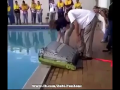 Pool Air Bouncer Funny Moment