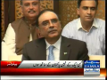 Funny Talking Between Asif Ali Zardari & Journalist