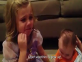 Soo Cute Sister Does Not Want Her Brother Grow Up