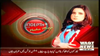 Indepth with Nadia Mirza 12th September 2014 Friday at Waqt News