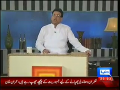 Hasb-e-Haal 12th September 2014 by Junaid Saleem,Sohail Ahmed and Najia on Friday at Dunya News