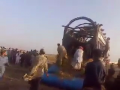 Sorab Goth Maveshi Mandi 2014 - Qurbani Ke Janwar Utarne ki Video