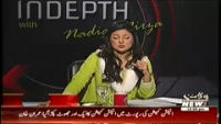 Indepth with Nadia Mirza 23rd September 2014 Tuesday at Waqt News