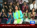 Mazaaq Raat 23rd September 2014 by Nauman Ijaz on Tuesday at Dunya News