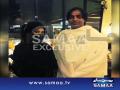 Shoaib Akhtar With His Wife Performing Hajj