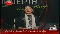Indepth with Nadia Mirza 30th September 2014 Tuesday at Waqt News
