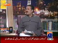 Khabar Naak 12th October 2014 by Aftab Iqbal on Sunday at Geo News