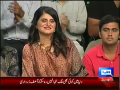 Mazaaq Raat 14th October 2014 by Nauman Ijaz on Wednesday at Dunya News
