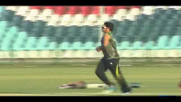 Saeed Ajmal With New Bowling Action