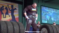 Strongest Man Lifting Heavy Weight