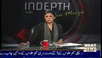 Indepth with Nadia Mirza 3rd November 2014 Monday at Waqt News