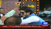 Mazaaq Raat 12th November 2014 by Nauman Ijaz on Wednesday at Dunya News