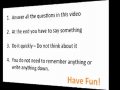 Incredible Mind Trick - How Do You Think