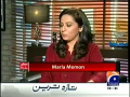 Meray Mutabiq 7th December 2014 by Hassan Nisar on Sunday at Geo News
