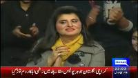 Mazaaq Raat 5th January 2015 by Nauman Ijaz on Monday at Dunya News