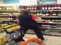 Grandma Gets Crazy In The Store