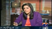 Meray Mutabiq 24th January 2015 by Hassan Nisar on Saturday at Geo News