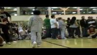 Amazing baby break dancer