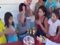 Kid Gets Angry On His Birthday
