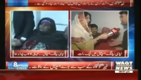 8PM With Fareeha Idrees 30th January 2015 by Fareeha Idrees on Friday at Waqt News