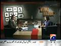Meray Mutabiq 7th March 2015 by Hassan Nisar on Saturday at Geo News