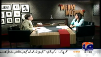Meray Mutabiq 5th April 2015 by Hassan Nisar on Sunday at Geo News