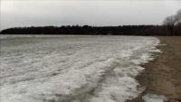 Ice Waves at North Beach