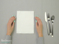 How To Make Triple Pocket Napkin Fold